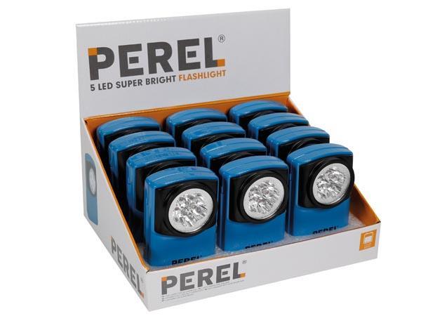 E44 Lampe De Poche Pour Pile Plate A 5 X Leds A 5 90 Autres Lampes Torches
